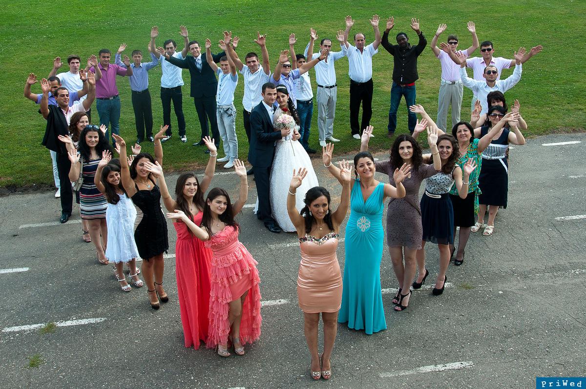 Фото гостей свадьбы короткие