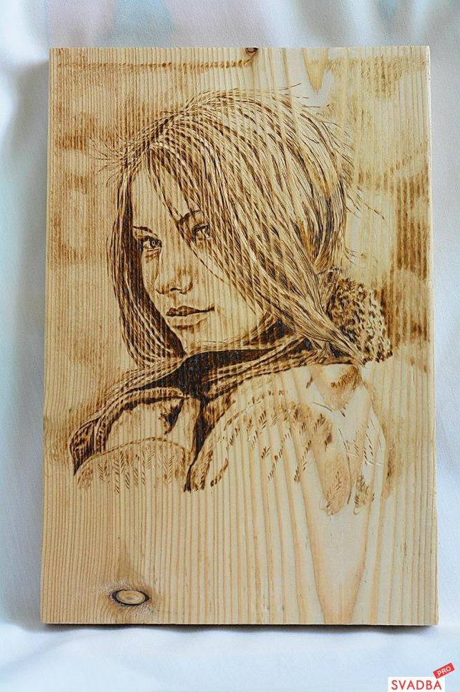 Портрет из дерева своими руками 21