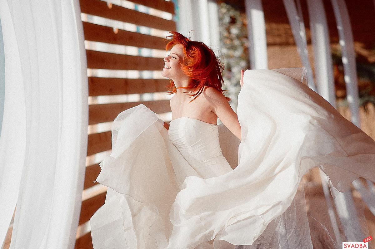 Фото рыжая невеста 3 фотография