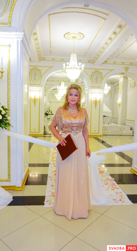 Wedding Ceremony во дворце Сюзора - регистратор Римма Чистякова