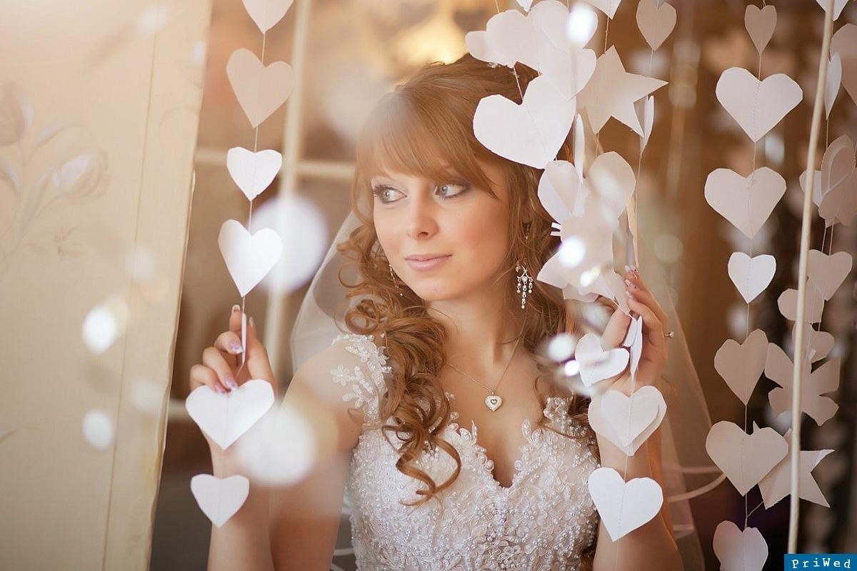 Украшения для комнаты невесты своими руками
