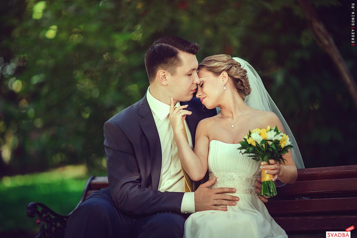 Свадебная фотосессия в воронцовском парке