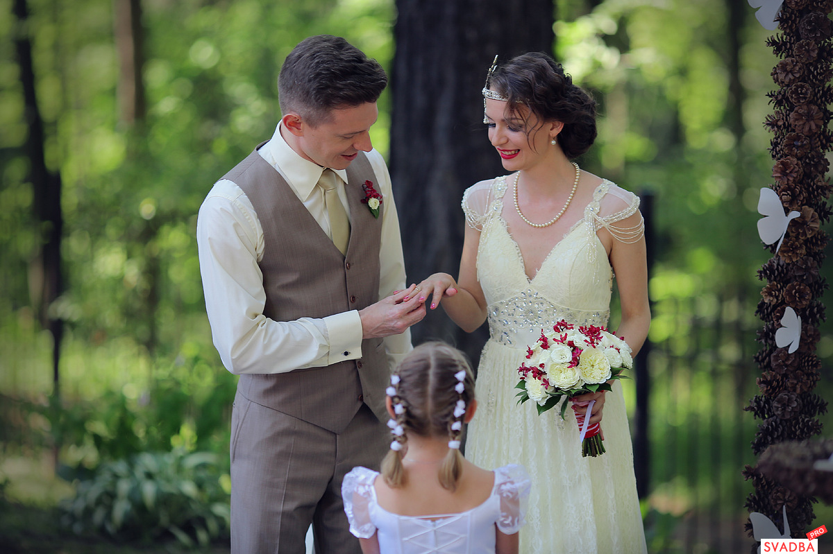 Фото свадеб с полной невестой