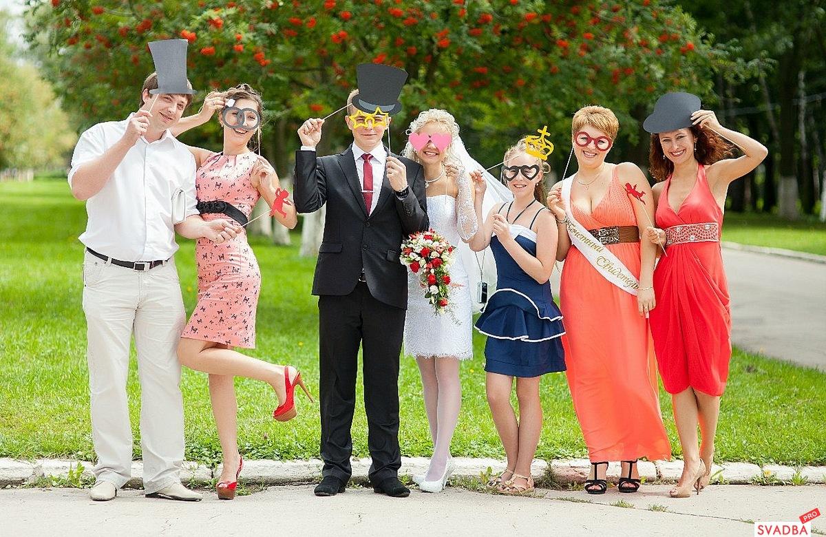 Реквизит для свадебных фото своими руками