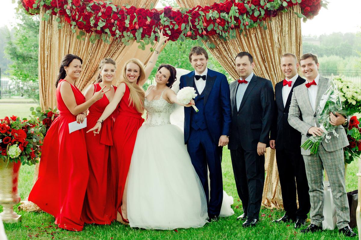 Проведение свадьбы в россии
