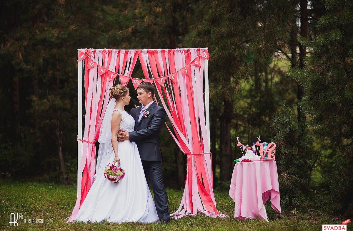 Как из сделать свадебную