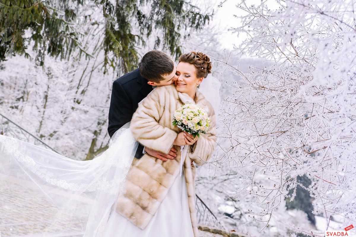 Свадебное зимняя свадьба фото