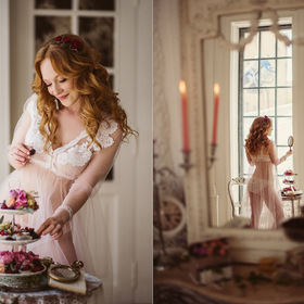 Sweet morning of beauty bride!
