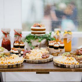 Сырные столы на свадьбу 55