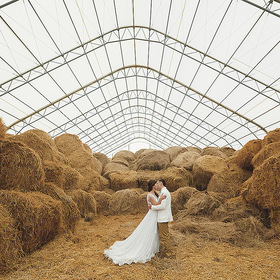 Декор свадьбы: сено. Раздел со статьями в свадебном журнале