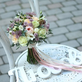 Свадебный букет екатеринбург