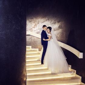 Свадебное фото. Жених и невеста.